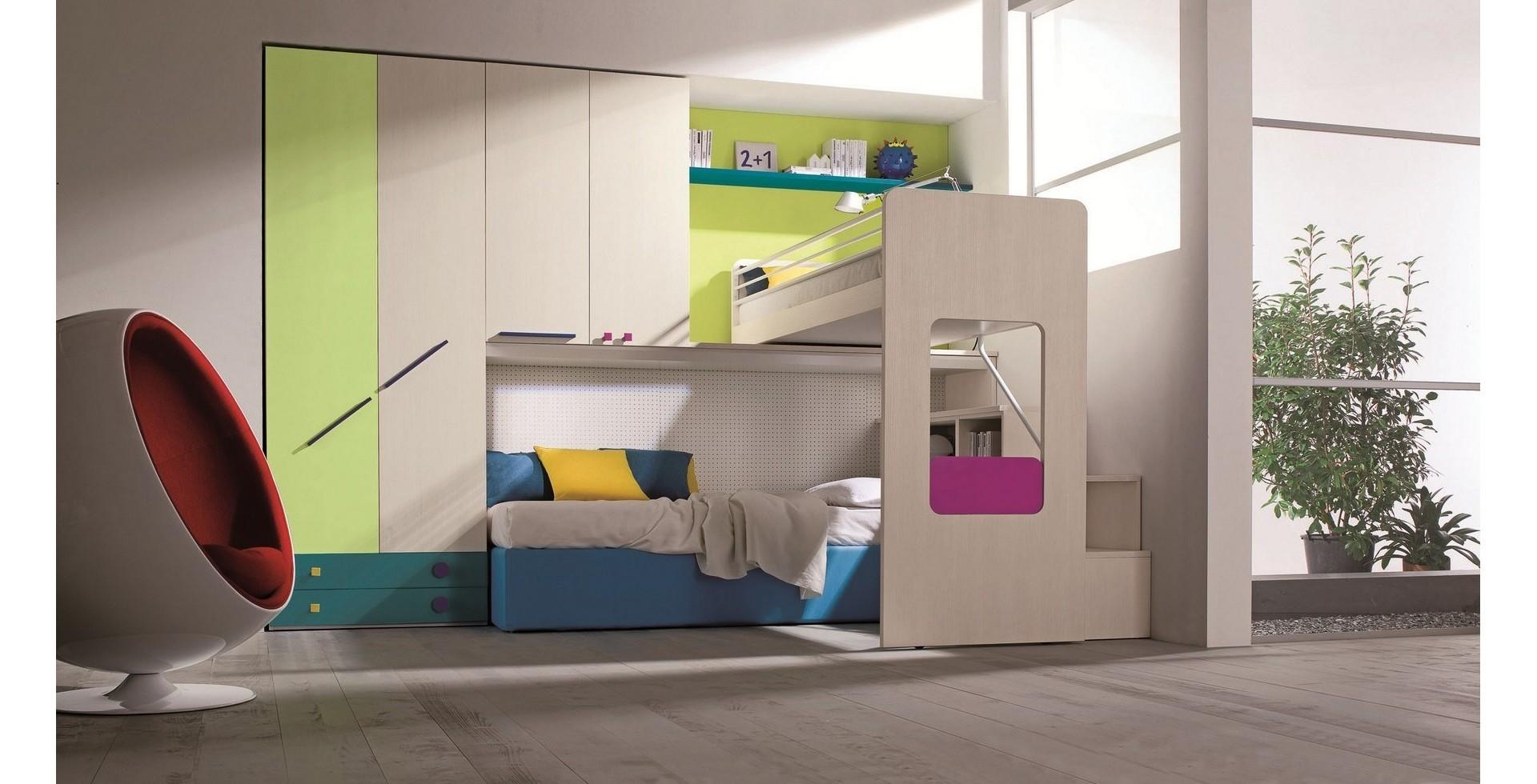 Camere Per Giovani : Camerette terranova mobli